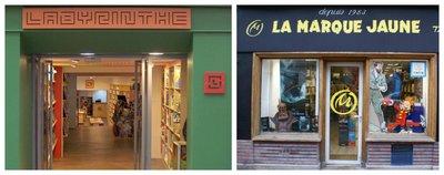 Labyrinthe et La marque jaune City Guide Saint Germain en Laye by Paris à l'Ouest