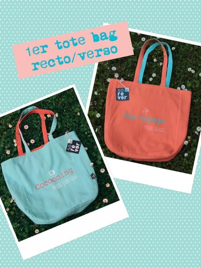 sorever tote bag réversible