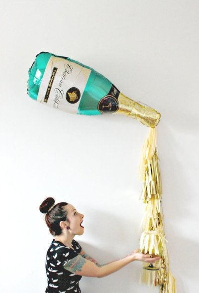 ballon-helium-champagne