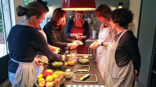 Atelier culinaire Veggie Paris à l'Ouest