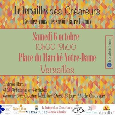 Marché des créateurs-Versailles
