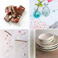 Selection paris a l'ouest chocolat, origami, ceramique, tissus sérigraphié