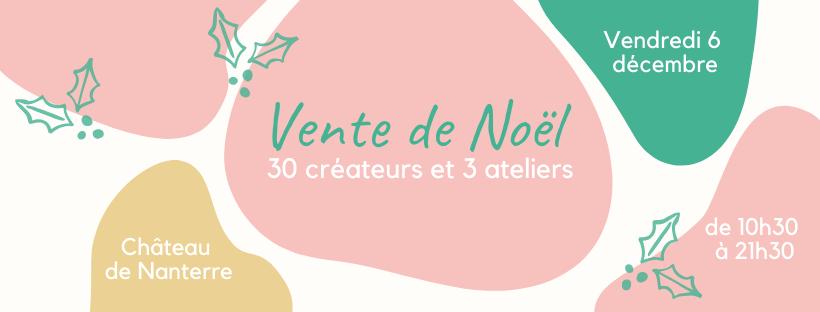 vente de createurs paris a l'ouest 6 decembre 2019