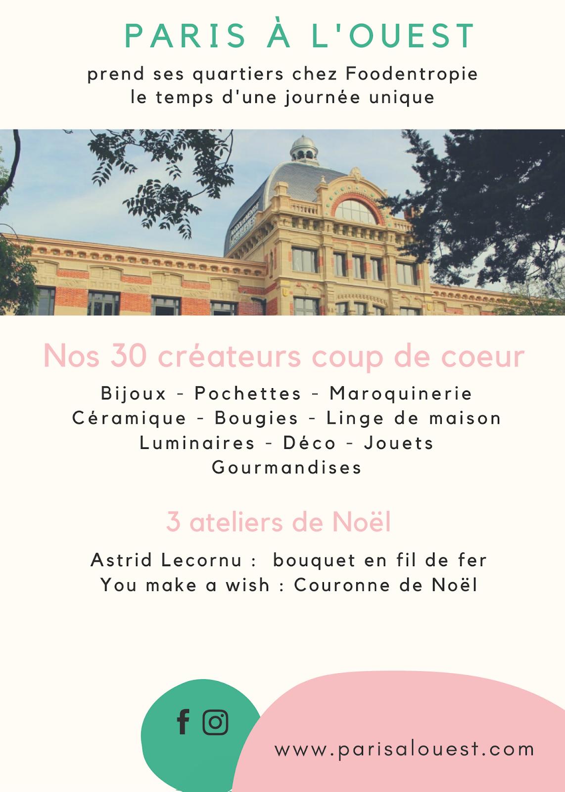 Vente de noel 2019 Paris à l'Ouest