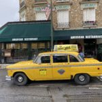Yellow cab du resto le New-York au chesnay