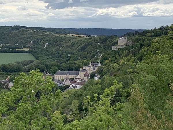 Balade à la Roche-Guyon et dans le parc naturel du Vexin