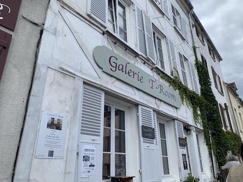 Galerie T-Room salon de thé et galerie d'art La Roche-Guyon