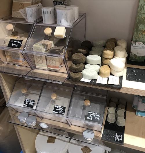 Coté Vrac-Saint-Germain-en-Laye Shampoings solides-dentifrice poudre