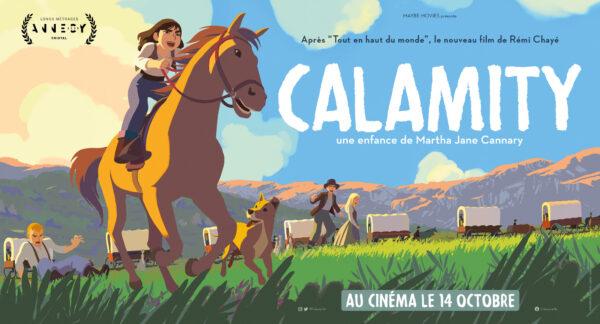 Film pour enfant. Calamity, une enfance de Martha Jane Cannary