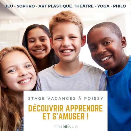 Atelier Philo, yoga, théâtre à Poissy