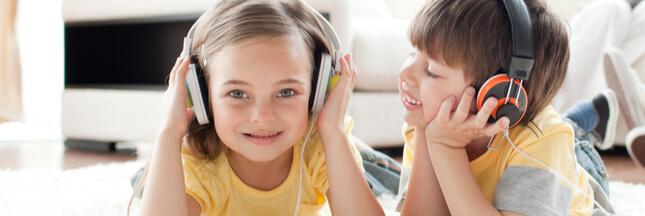 Podcasts pour enfants.