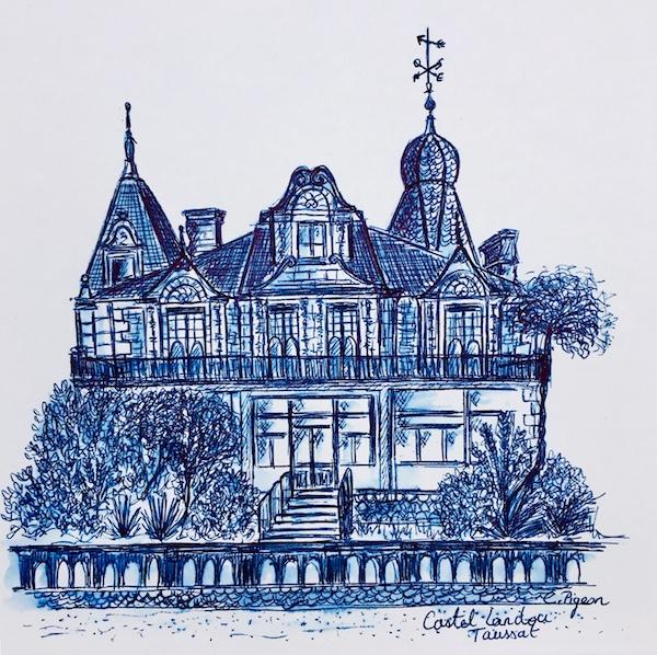 Votre maison dessinée par Christel