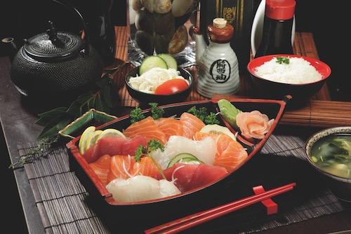 Sushis maison de Kyoto