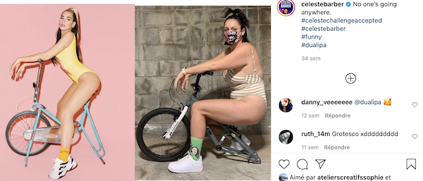 Celeste Barber Instagram