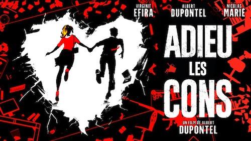 Affiche film Adieu les Cons