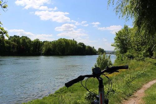 Randonnée en vélo sur les boucles de Seine