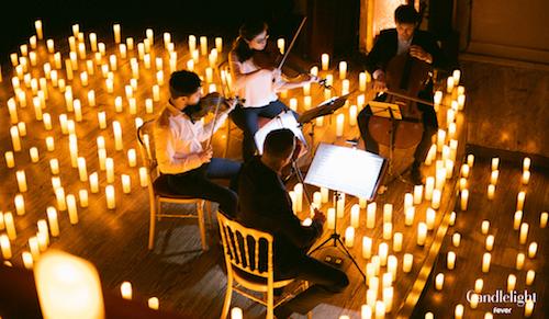Candlelight concert à la chandelle