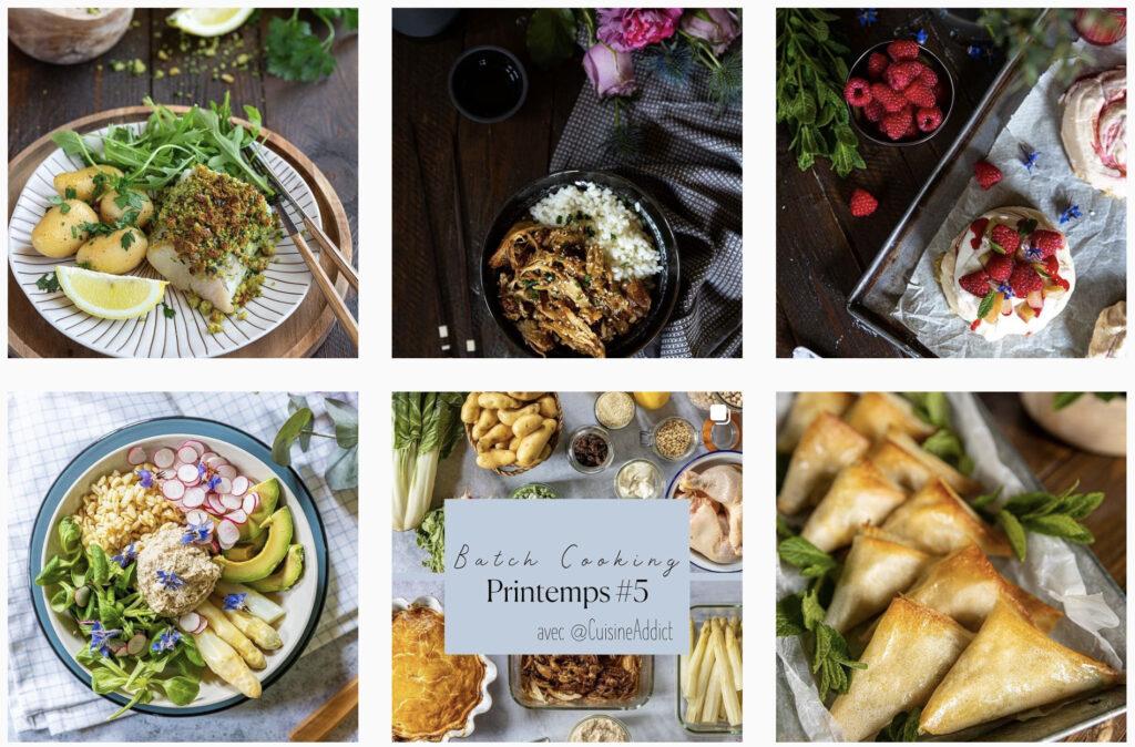 Cuisine Addict. Recettes pour le batch cooking