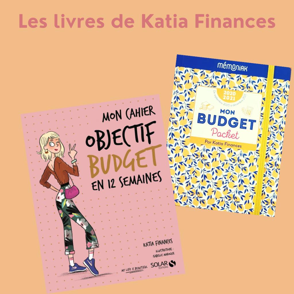 Livres de Katia finances sur le suivi de budget