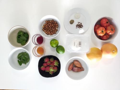 ingrédients salade d'été