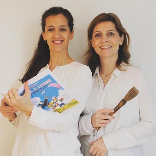 Virginie Becquet et Laetitia Zink. 2 entrepreneuses Versaillaises