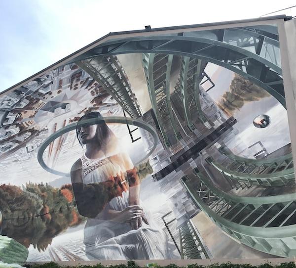 Street Art à Chatou. Vesod