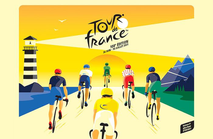 Affiche Tour de France 2021