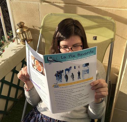 La Pie Bavarde, un hebdo pour des enfants ayant des problèmes de lecture