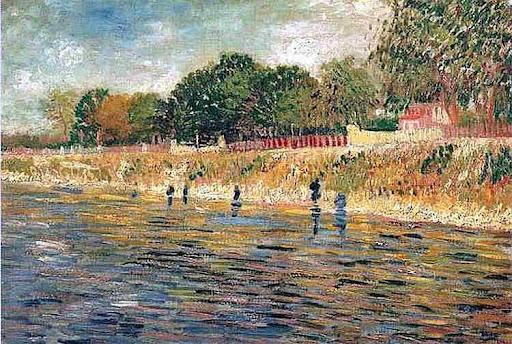 Promenade des impressionnistes, Asnières
